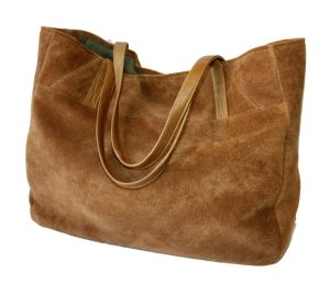 Thick Suede Tote