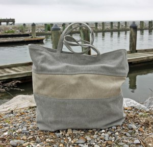 Stonewashed Canvas Tote Bag